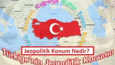 Jeopolitik Konum Nedir? Türkiye'nin Jeopolitik Önemi