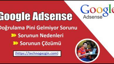 Google Adsense Ping Gelmiyor Sorunu [Çözüm]
